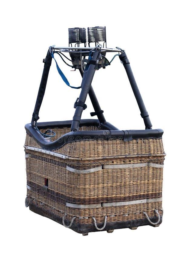Hot Air Balloon Basket royalty free stock photos