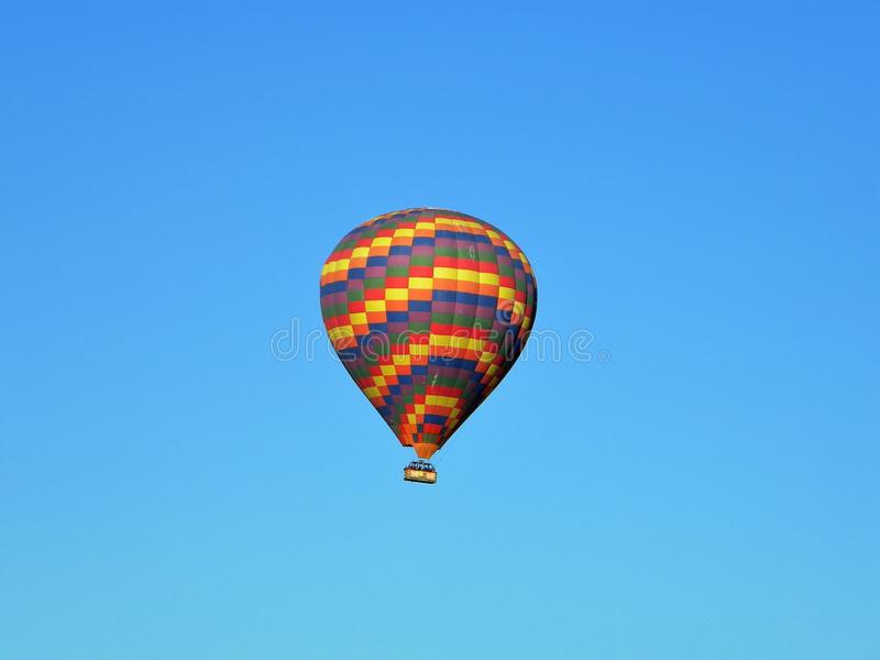 Hot air balloon in Cappadocia, Turkey royalty free stock photography
