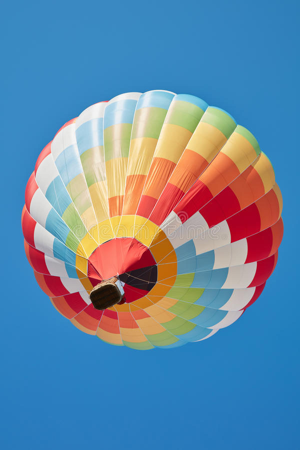 Free Hot Air Balloon, Colorful Aerostat On Blue Sky Royalty Free Stock Photography - 85779057