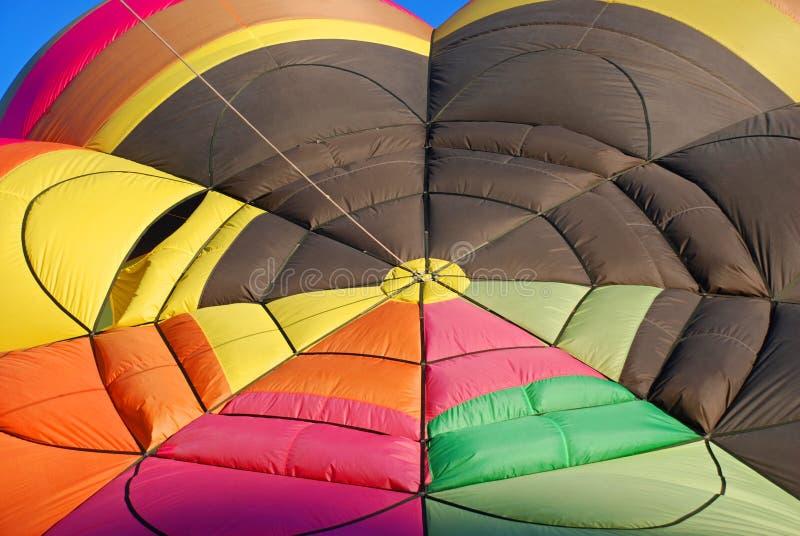 Hot Air Balloon Colors stock photo
