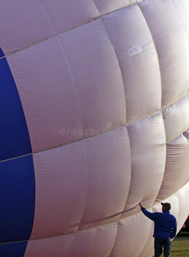 Download Hot Air Balloon Crew Member Check Editorial Stock Photo - Image: 16035813