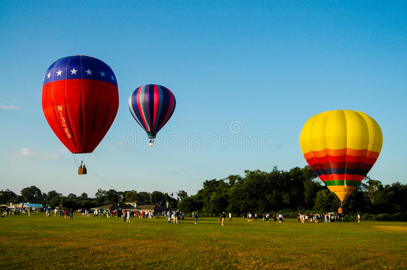 Hot Air Balloon Festival. Hot Air Balloon Festival held at the University of Rhode Island, Kingston Campus royalty free stock images