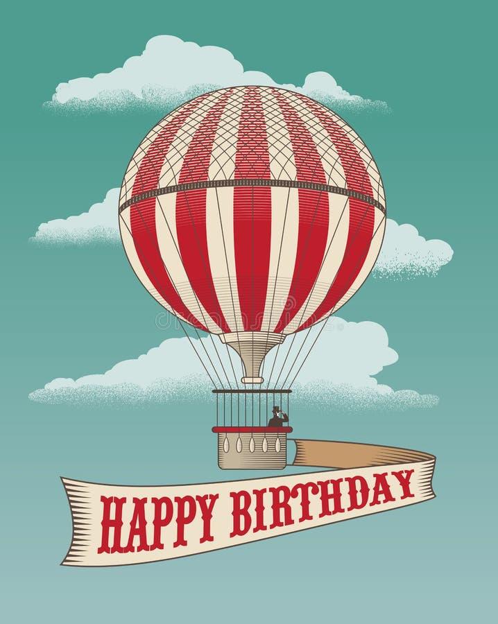 Hot air balloon stock vector illustration of drawn banner 62273915 hot air balloon bookmarktalkfo Image collections