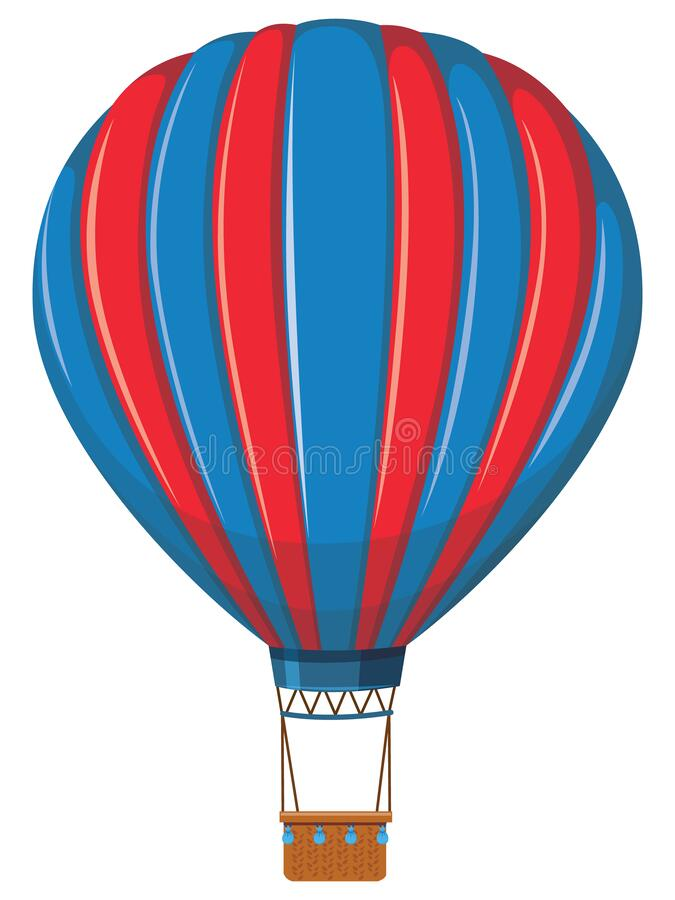 Free Hot Air Balloon Illustration Stock Photo - 183612490