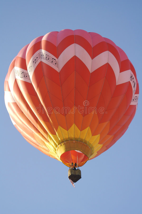 Download Hot Air Balloon Lifting Off Stock Image - Image: 2430199