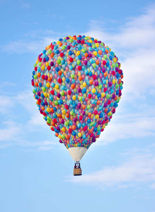 Fun hot air balloon up stock image image of height for What to do with balloons