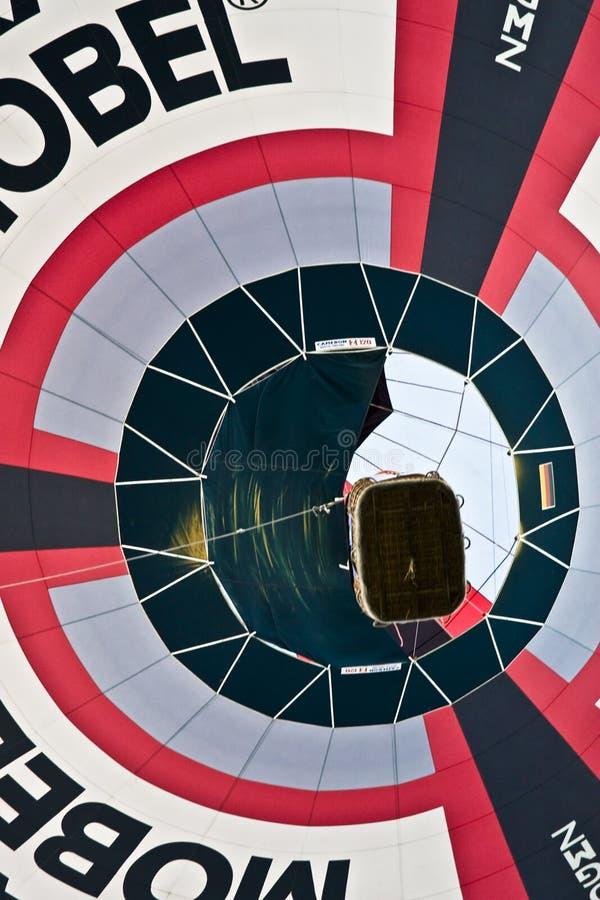 Hot Air Balloon Overhead royalty free stock photography
