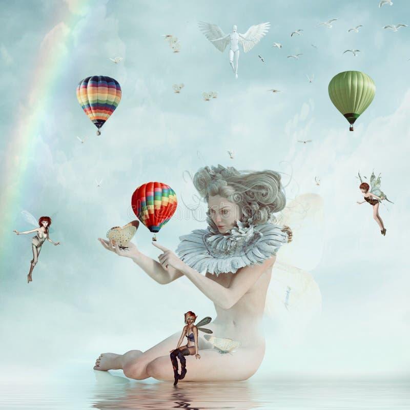 Hot Air Balloon, Parachuting, Balloon, Hot Air Ballooning royalty free stock photo