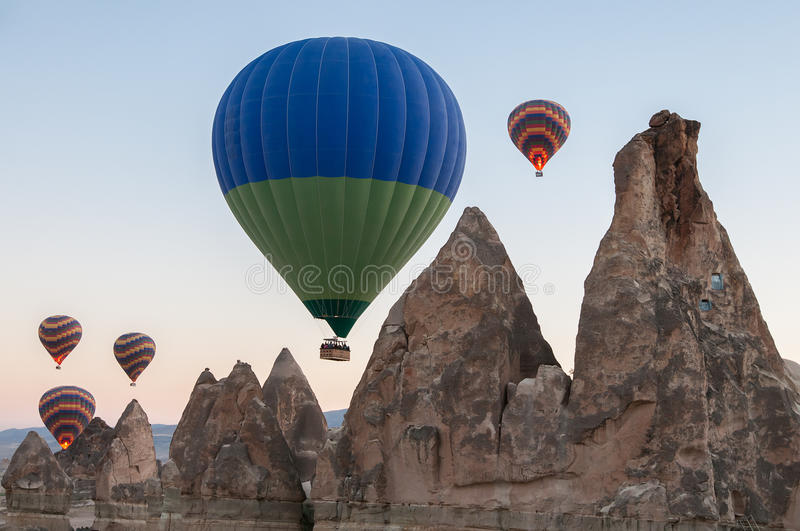 Download Hot air balloon stock photo. Image of destination, landscape - 30504292