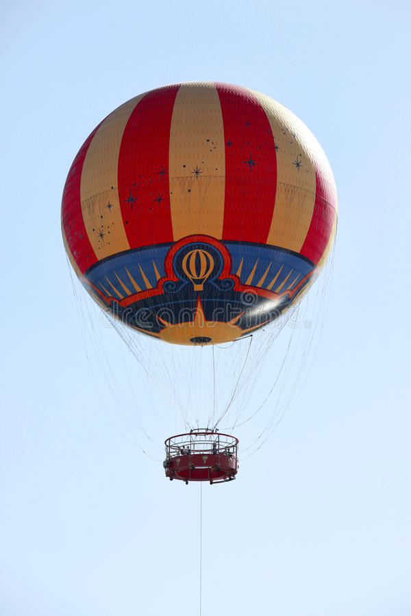 Hot Air Balloon Ride stock image