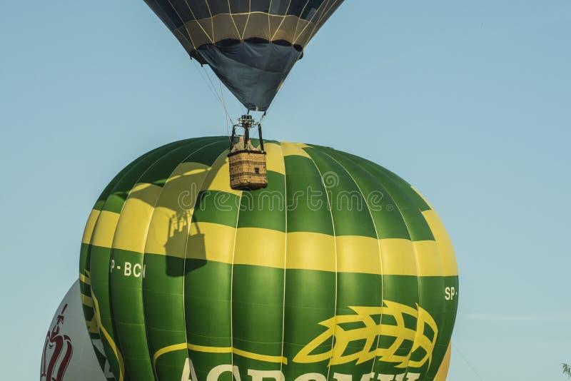 Hot Air Ballooning, Hot Air Balloon, Yellow, Balloon stock images