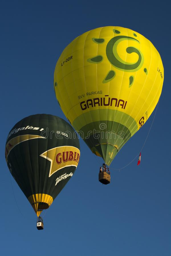 Hot Air Ballooning, Hot Air Balloon, Yellow, Daytime royalty free stock photo