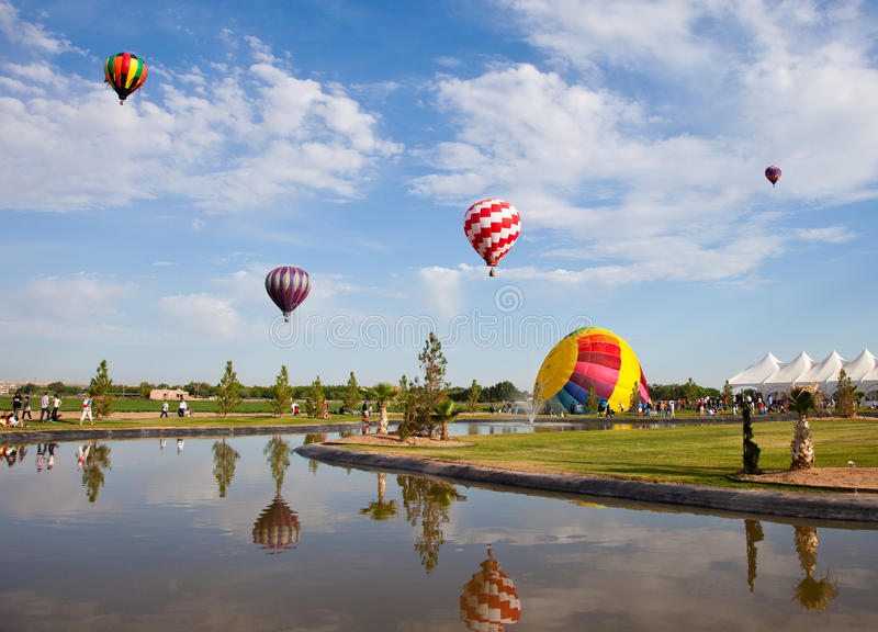 Hot Air Balloons Editorial Image Image Of Clouds