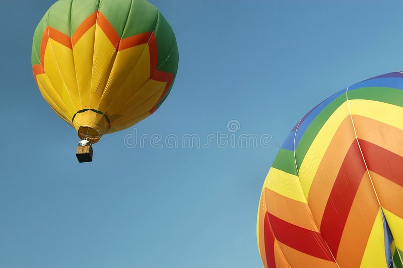 Download Hot Air Balloons stock image. Image of morning, blue, soar - 19147
