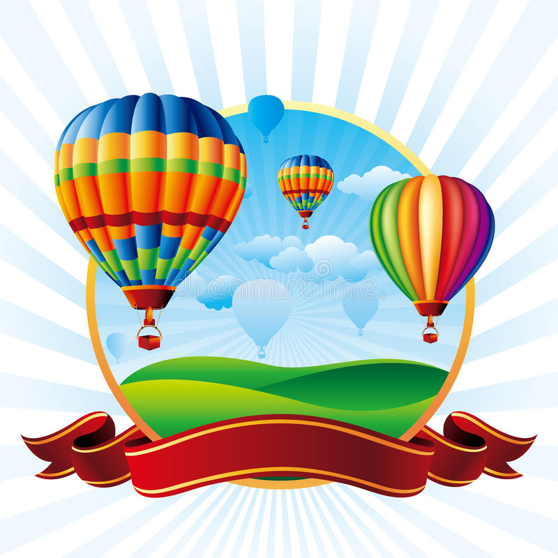 Free Hot Air Balloons Stock Photography - 21181252