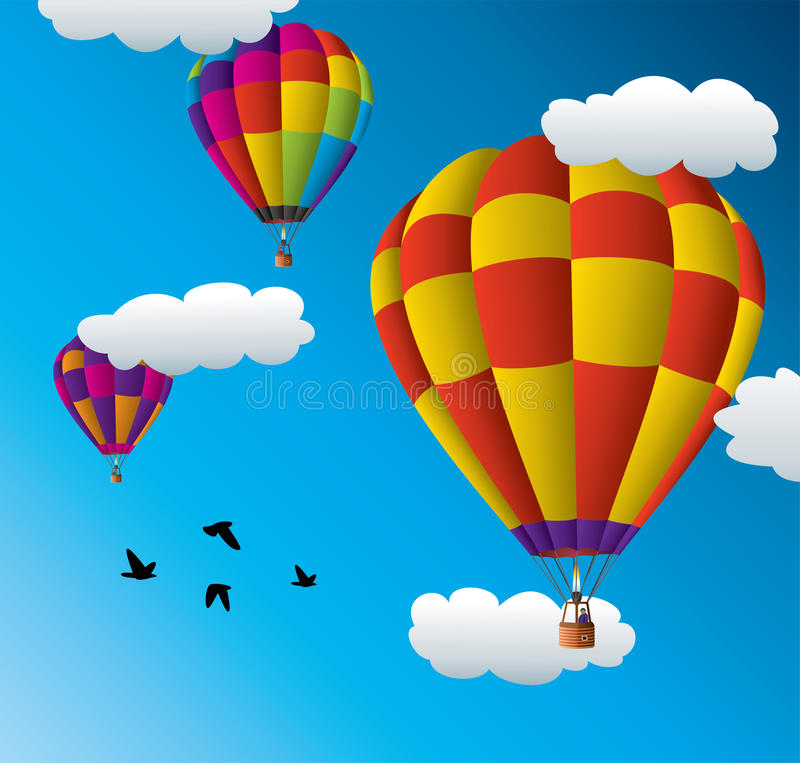 Free Hot Air Balloons Stock Images - 21741954