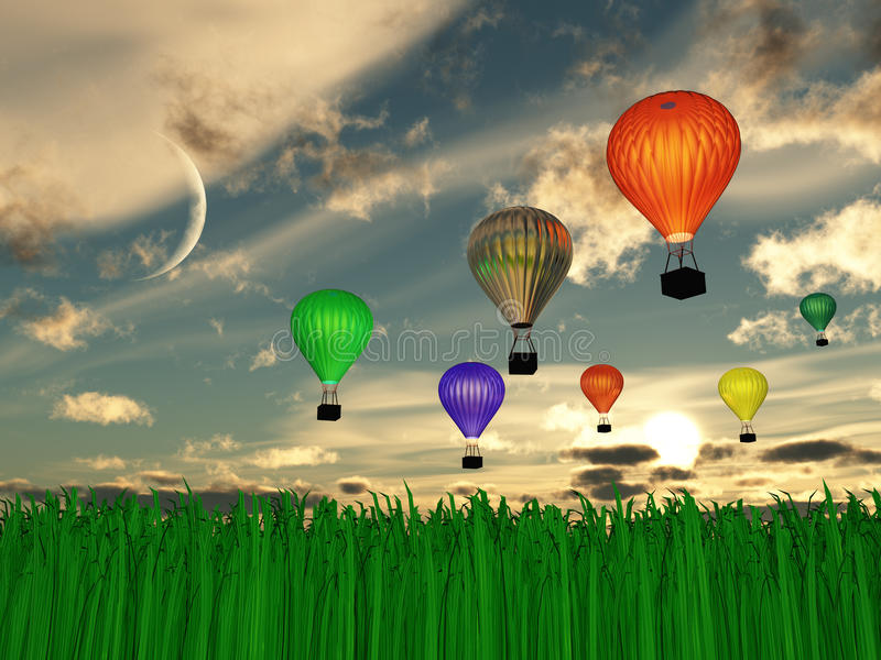 Download Hot Air Balloons Stock Images - Image: 25425614