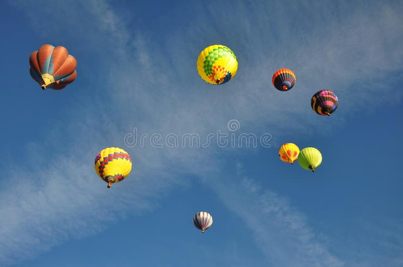 Download Hot Air Balloons stock photo. Image of wispy, nevada - 26849298