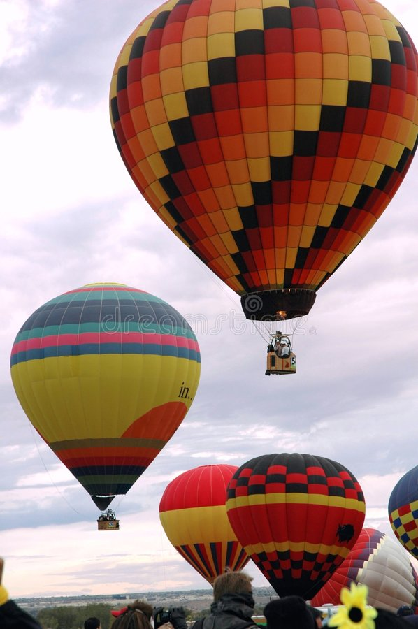 Free Hot Air Balloons 3 Royalty Free Stock Photography - 1719897