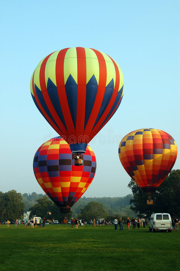 Download Hot air balloons stock photo. Image of colorful, flying - 4377560