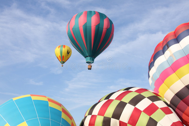 Download Hot Air Balloons stock photo. Image of bright, ballooning - 6535932