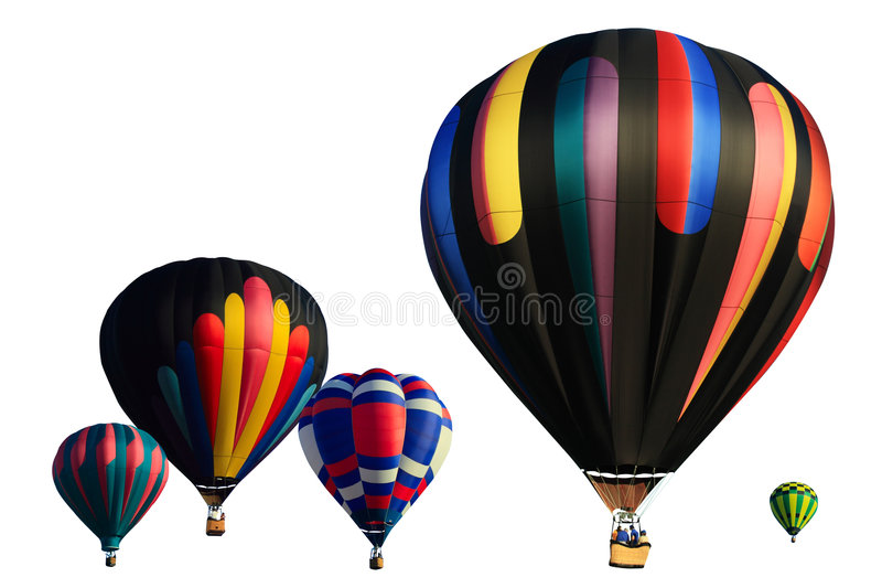 Download Hot Air Balloons stock photo. Image of daytime, white - 8873764