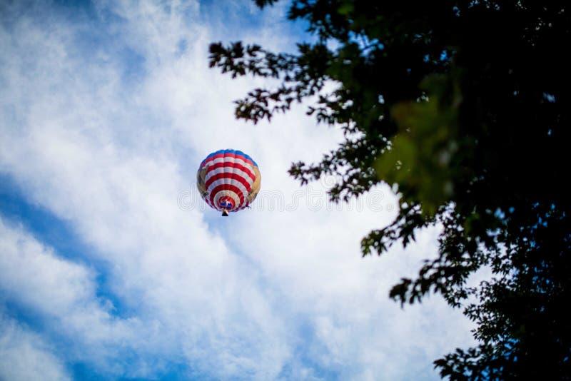 Hot air balloon stock photos