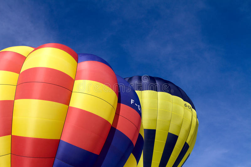 Download Hot Air Balloons - Chateau-d'Oex 2010 Stock Photo - Image: 12671532