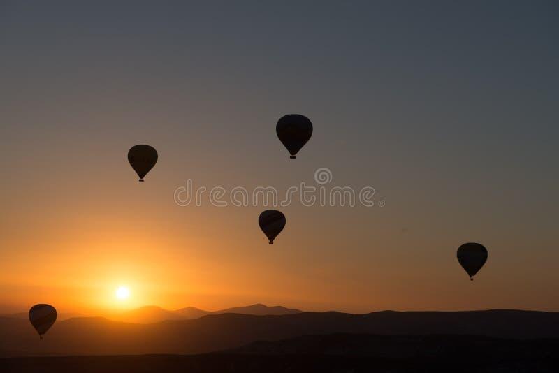 Hot Air Balloons At Dawn Free Public Domain Cc0 Image
