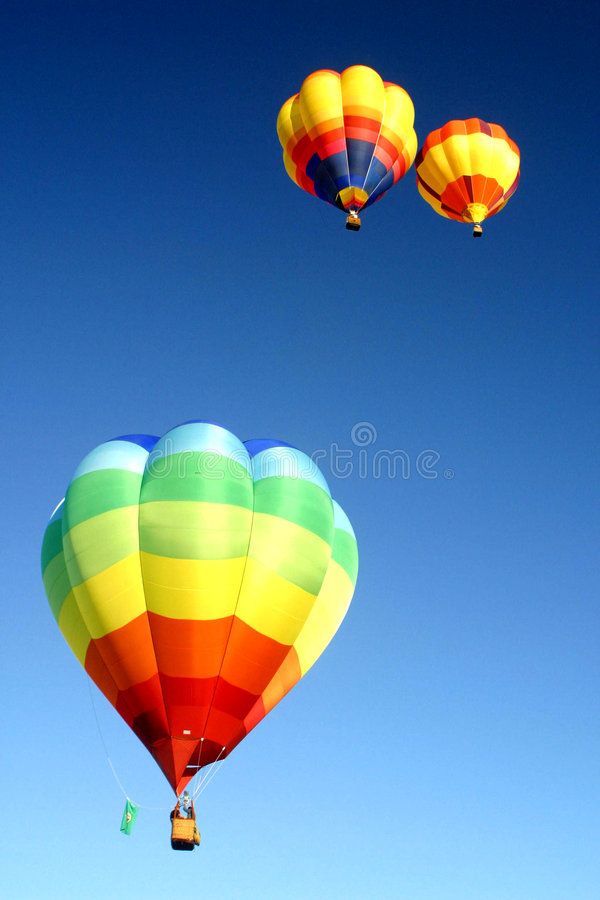 Download Hot Air Balloons In The Sky Stock Image - Image: 1713175