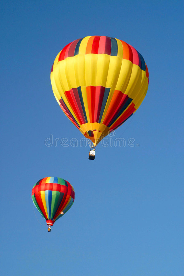Download Hot Air Balloons In The Sky Royalty Free Stock Photos - Image: 1713188