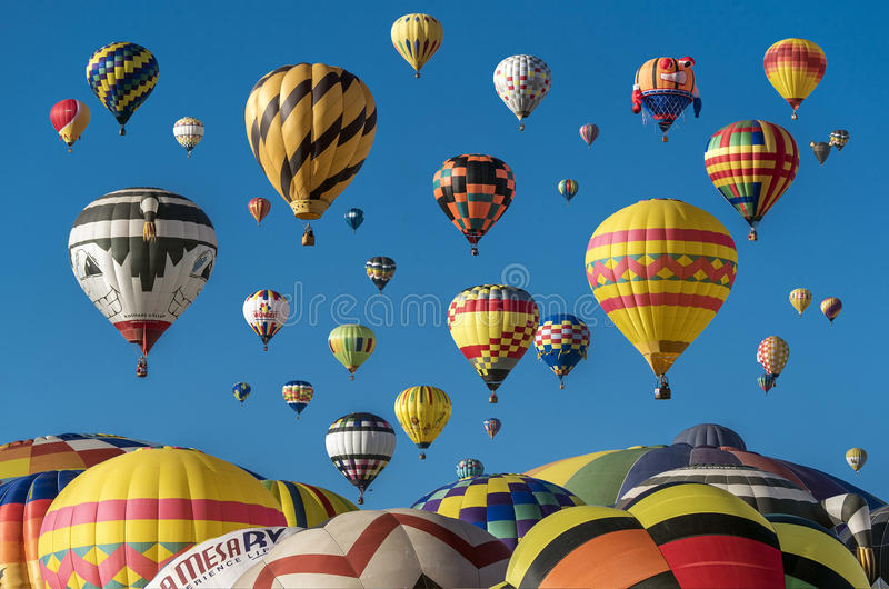 Hot Air Balloons In The Sky Surface Free Public Domain Cc0 Image