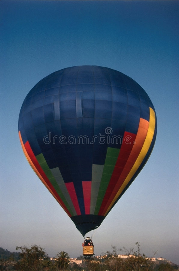 Download Hot air baloon stock image. Image of tourist, transportation - 7619861