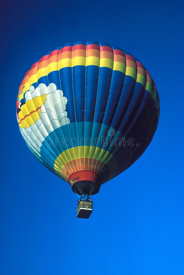 Download Hot Air Baloon stock illustration. Image of tourist, colors - 912367