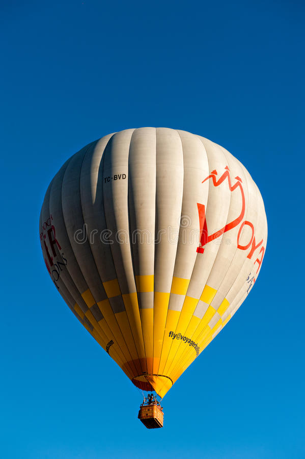 Hot air baloons in Cappadocia Turkey. Hot air baloons in Cappadocia stock images