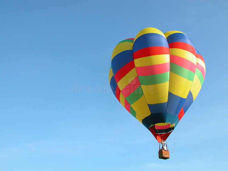 Hot Air Ride stock images