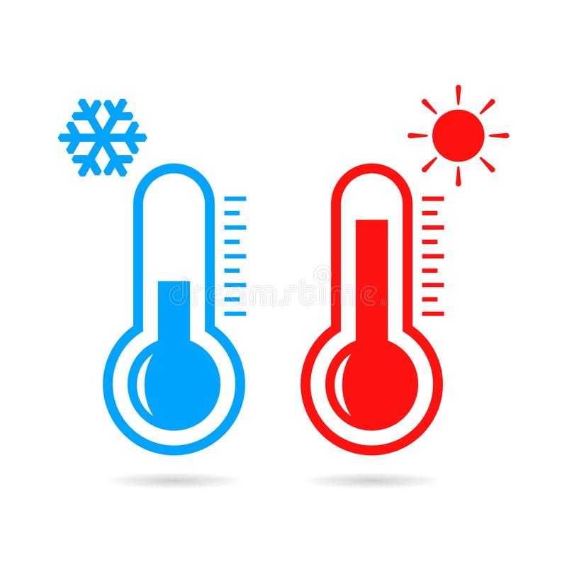 Free Hot And Cold Temperature Vector Icon Stock Photo - 129672490
