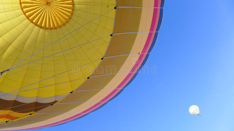 Hot Balloon Fun Ride royalty free stock photo