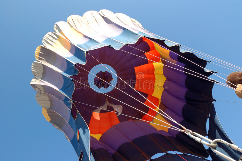 Download Hot Balloon landing stock image. Image of blow, adventure - 3824645