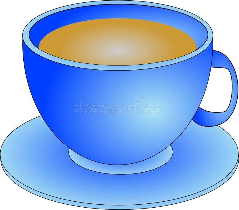 Download Hot Beverage stock illustration. Image of saucer, beverages - 40988