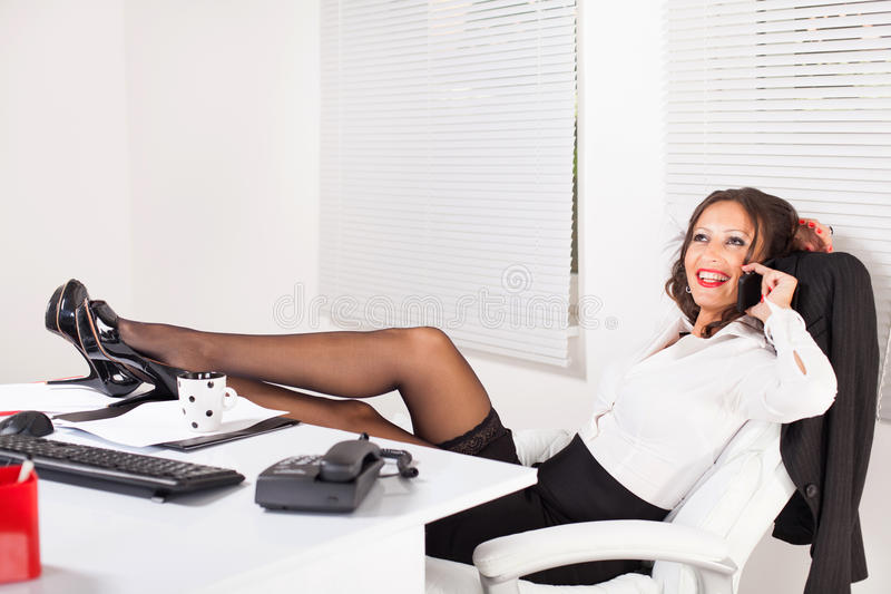 hot business woman stock image. image of attractive, secretary