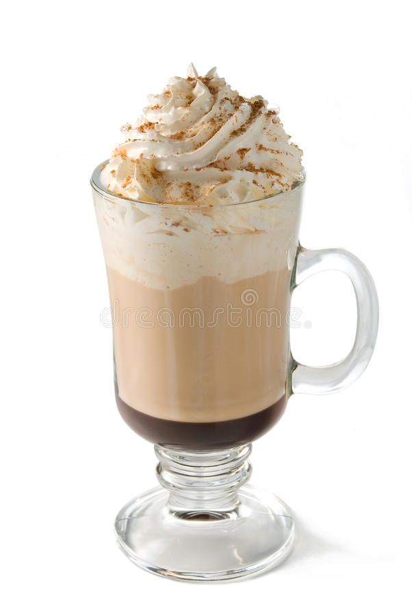 Hot Cafe Mocha Coffee stock photography