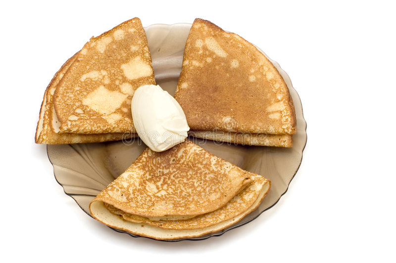 Hot cake royalty free stock photography