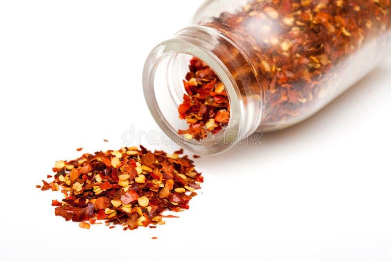 Hot chili flakes
