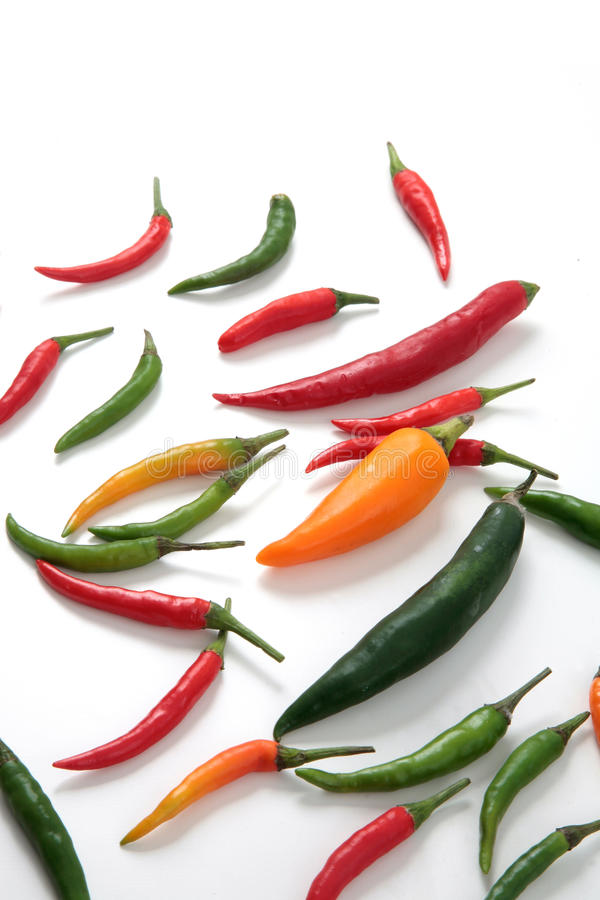 Download Hot chili peppers variety stock image. Image of green - 13268455