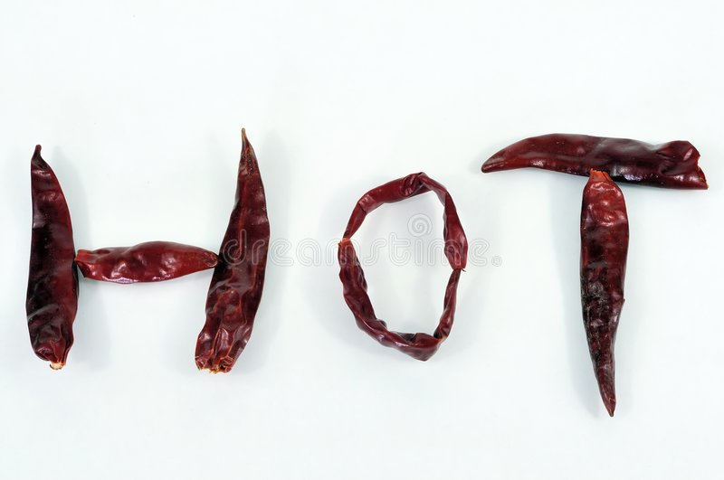 Hot Chillies Royalty Free Stock Images