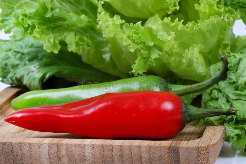 Hot chillies stock photo