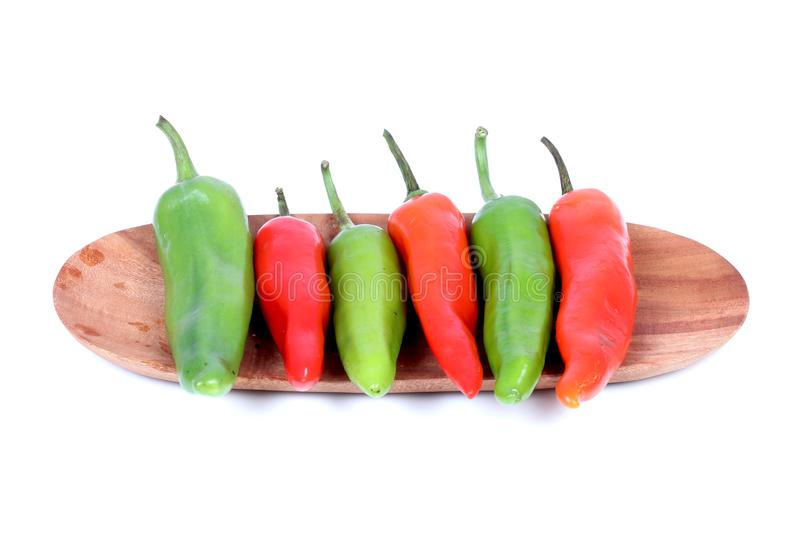 Hot chillies royalty free stock photos