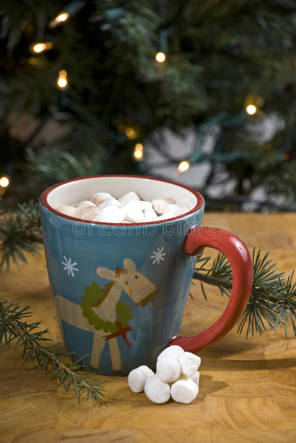 Download Hot chocolate stock image. Image of tree, reindeer, christmas - 12098451