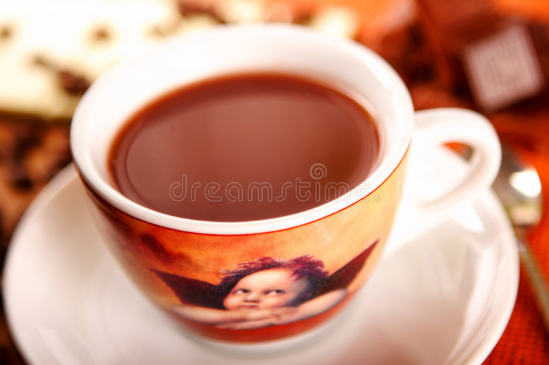 Download Hot chocolate stock image. Image of drink, calory, candy - 1702695
